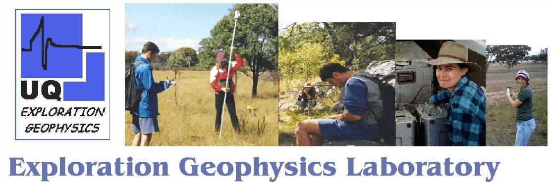 [Exploration Geophysics Laboratory]